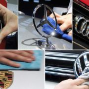 Die deutschen Autobauer sehen sich nach einem Medienbericht mit einem scharfen Kartellvorwurf konfrontiert. (Foto)