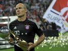 Die Bayernfans haben ihn wieder lieb: Arjen Robben. (Foto)