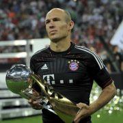 Die Bayernfans haben ihn wieder lieb: Arjen Robben.