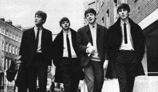 Die Beatles in Liverpool, bald könnte es ihre Musik auch als MP3 geben. (Foto)