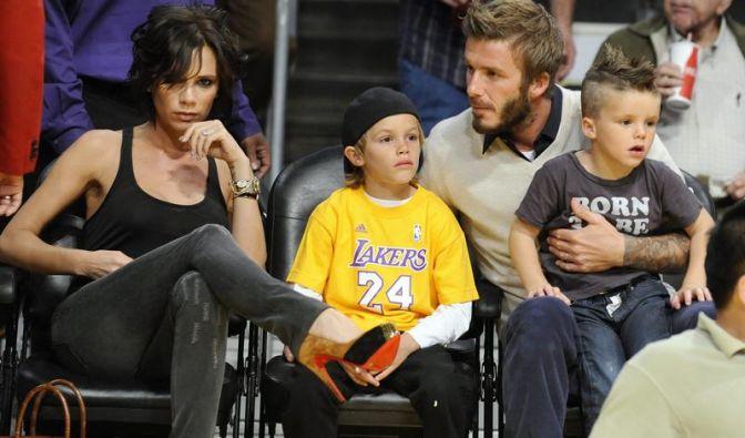 Die Beckhams  (Foto)