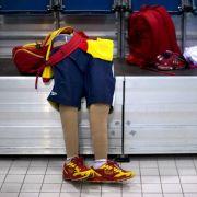 Die Beinprothesen eines Sportlers. Bei einer Umfrage gaben 17 Prozent der Behindertensportler zu, schon einmal Boosting versucht zu haben.