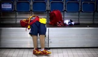 Die Beinprothesen eines Sportlers. Bei einer Umfrage gaben 17 Prozent der Behindertensportler zu, schon einmal Boosting versucht zu haben. (Foto)