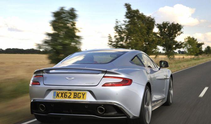 Die besten Bilder zu Aston Martin Vanquish: Zweiter Frühling (Foto)