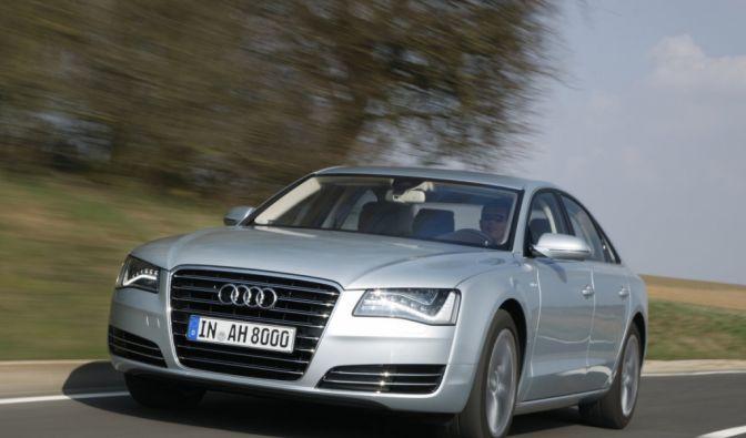 Die besten Bilder zu Audi A8 Hybrid: Am Ziel vorbei (Foto)