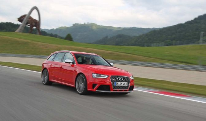 Die besten Bilder zu Audi RS4 Avant: Papas Liebling (Foto)