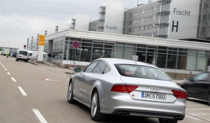 Die besten Bilder zu Audi S7: Achter mit Steuermann (Foto)