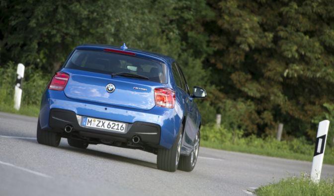 Die besten Bilder zu BMW M 135i: M und M (Foto)