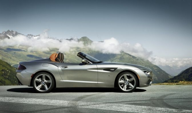 Die besten Bilder zu BMW Z4 Zagato Roadster: Offen und frei (Foto)