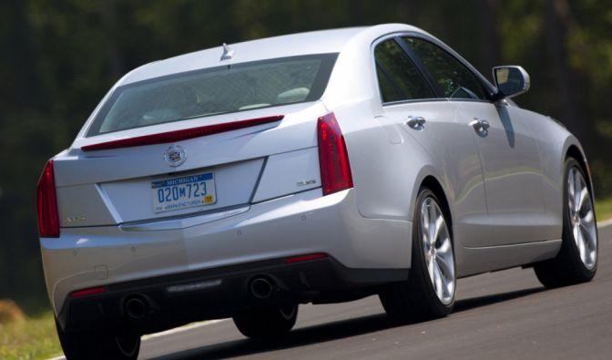 Die besten Bilder zu Cadillac ATS 3.6: Ergänzungsspieler (Foto)