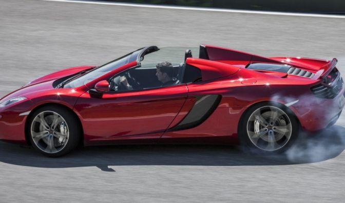 Die besten Bilder zu McLaren MP4-12C Spider: Topless (Foto)