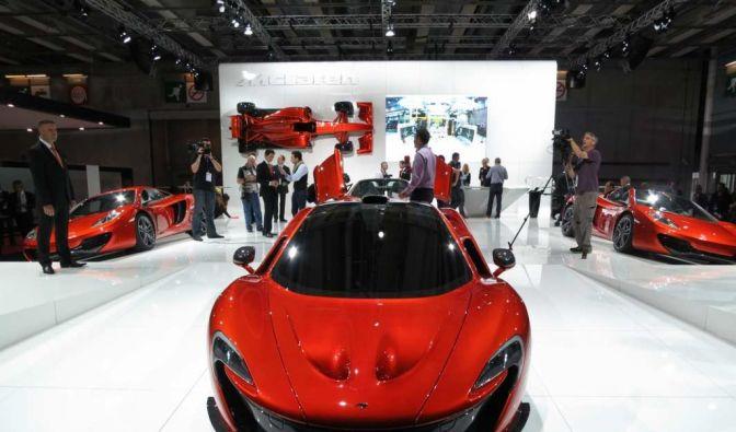 Die besten Bilder zu McLaren P1: Knall auf Fall (Foto)