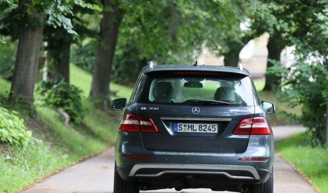Die besten Bilder zu Mercedes-Benz ML 350 blueTEC: Blaupause (Foto)