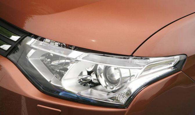 Die besten Bilder zu Mitsubishi Outlander: Aufgewertet (Foto)