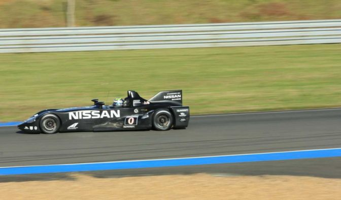 Die besten Bilder zu Nissan Deltawing: Schwarze 0-Nummer (Foto)