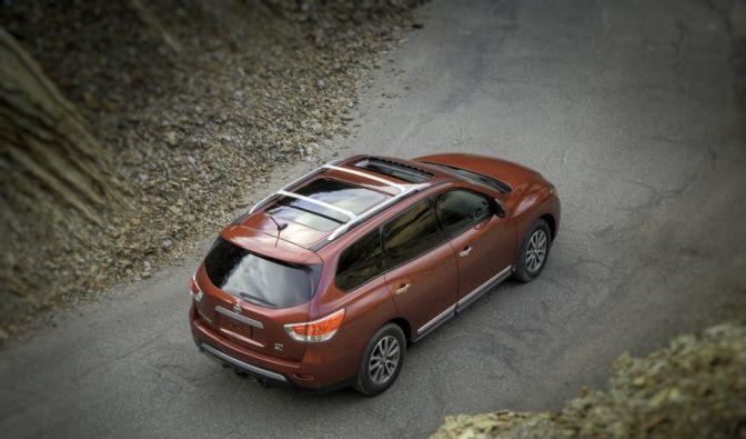 Die besten Bilder zu Nissan Pathfinder: Weg mit dem Hüftgold (Foto)