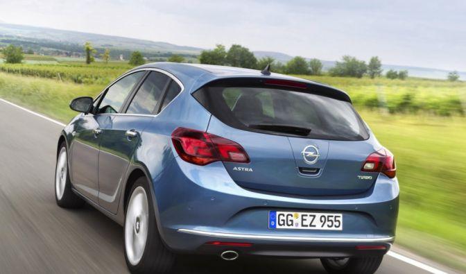 Die besten Bilder zu Opel Astra 2013: Der hungrige Verfolger (Foto)