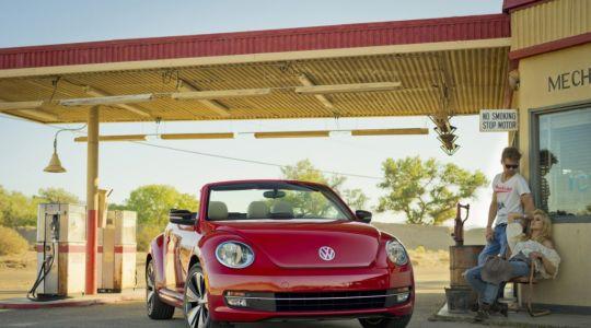 Die besten Bilder zu VW Beetle Cabrio: Hut ab (Foto)