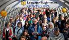 Wenn sich die Besucher in den Leipziger Messehallen drängen, dann ist Buchmesse-Zeit. Noch bis Sonntag steht die Messestadt ganz im Zeichen der Literatur. Für alle Kurzentschlossenen haben wir hier noch einmal sämtliche Infos zur Messe und dem begleitenden Lesefestival 'Leipzig liest' zusammengestellt. Foto: dpa