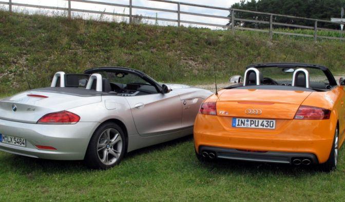 Die besten Bilder zu Audi TT S Roadster - BMW Z4: Bavarian Open (Foto)