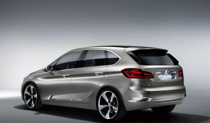 Die besten Bilder zu BMW Concept Active Tourer: Der erste BMW-Van (Foto)