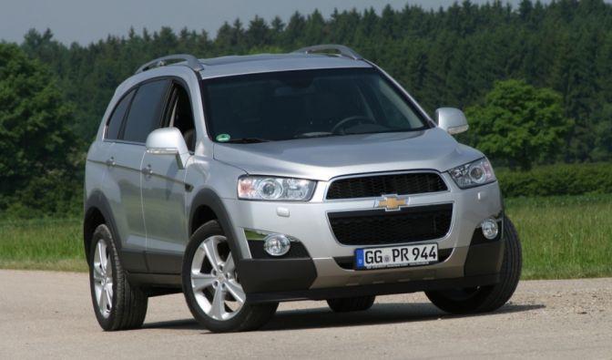 Die besten Bilder zu Chevrolet Captiva 2.2 AT 4WD: Wettkampf im Sommercamp (Foto)