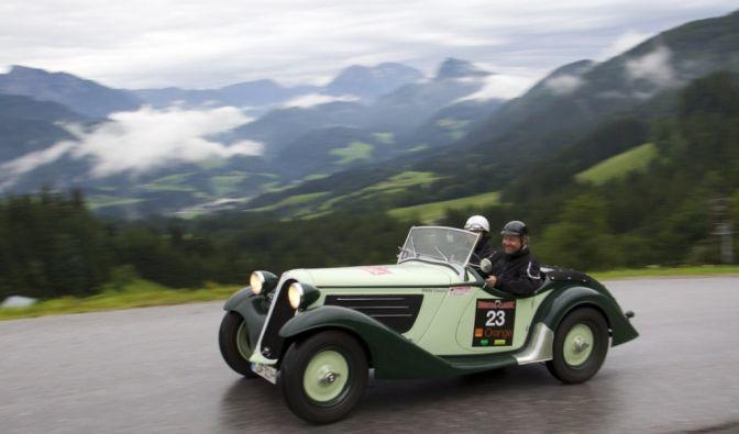 Die besten Bilder zu Ennstal Classic 2012: Dauerregen im Paradies (Foto)