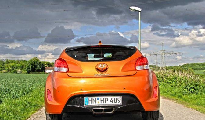 Die besten Bilder zu Hyundai Veloster 1.6 GDI: Mehr Schein als Sein (Foto)