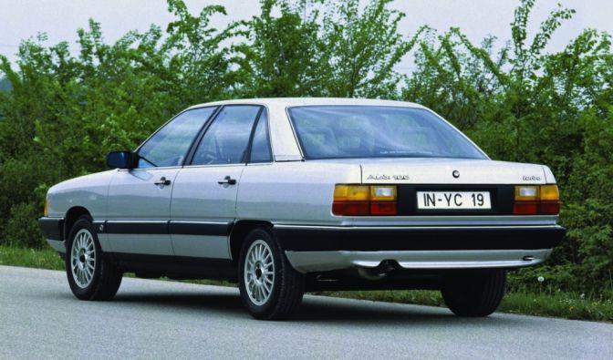 Die besten Bilder zu 30 Jahre Audi 100 C3: Professor Brinkmanns Stromlinie (Foto)