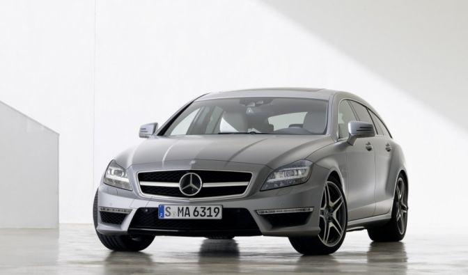 Die besten Bilder zu Mercedes CLS 63 AMG Shooting Brake: Diamantenfieber (Foto)
