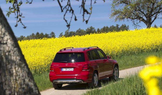 Die besten Bilder zu Mercedes GLK 250 Bluetec: Weniger Kontur - mehr Technik (Foto)