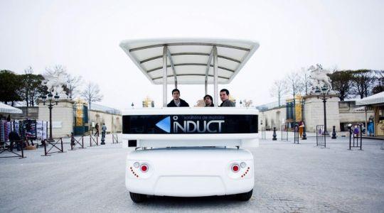 Die besten Bilder zu Mobilitätskonzept für die City: Der Shuttle fährt selbst (Foto)