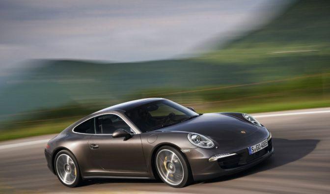 Die besten Bilder zu Porsche Carrera 4 und 4S: Traktionsfreudige Heckschleuder (Foto)