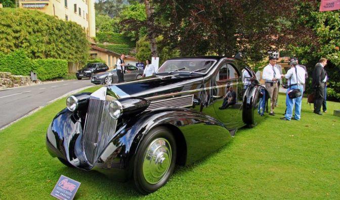 Die besten Bilder zu Round Door Rolls-Royce: Fahrende Einzigartigkeit (Foto)