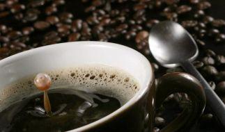 Die braune Bohne macht gesund: Kaffee macht nicht nur glücklich, sondern hält auch gesund. (Foto)
