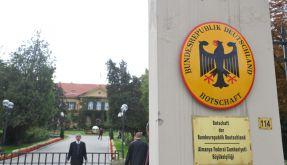 Die deutsche Botschaft in Ankara wurde vorläufig geschlossen. (Foto)