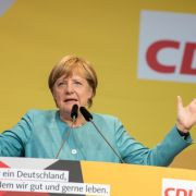 Die amtierende Bundeskanzlerin Angela Merkel geht mit der CDU und einem 76-seitigen Wahlprogramm in die Bundestagswahl 2017. (Foto)