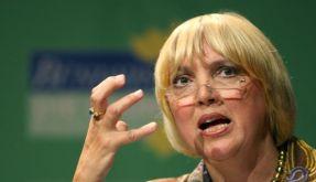 Die Bundesvorsitzende der Grünen Claudia Roth. (Foto)