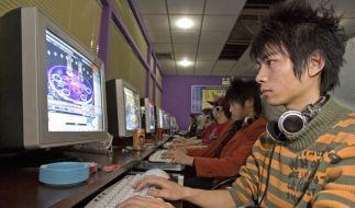Die Computernutzung in China boomt - die Überwachung durch den Staat auch. (Foto)