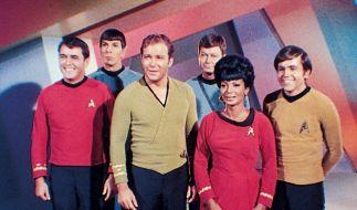 Die Crew des Raumschiffs Enterprise NCC-1701 (Foto)