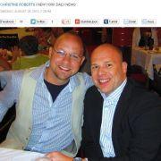 Die Daily News berichten über das fiese Erlebnis von Martin Borger (r.) und seinem Partner Christopher Bridgeman.