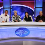 Die neue DSDS-Jury: (v.li.) Dieter Bohlen, Bill Kaulitz, Tom Kaulitz und Mateo.