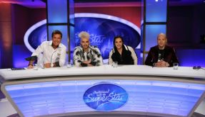Die neue DSDS-Jury: (v.li.) Dieter Bohlen, Bill Kaulitz, Tom Kaulitz und Mateo. (Foto)