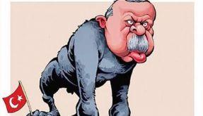 """Die Erdogan-Karikatur des niederländischen """"De Telegraaf"""". (Foto)"""