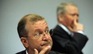 Die Ex-Porsche-Chefs Wendelin Wiedeking und Holger Härter sind im Visier der Behörden. (Foto)