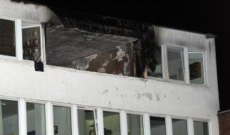 Die Explosion tötete den 17-Jährigen und zerstörte die Wohnung völlig. (Foto)