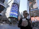 Die Facebook-Aktie ist im freien Fall nach unten. (Foto)