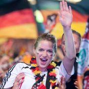 Die deutschen Fans hatten bisher bei der EM nur Grund zum Jubeln.
