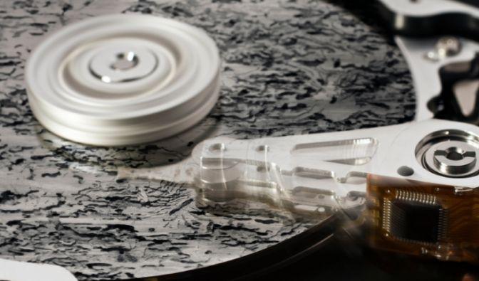 «Die Festplatte besteht aus hunderten Einzelteilen, die teilweise schwer nachzuordern sind. Das zent (Foto)
