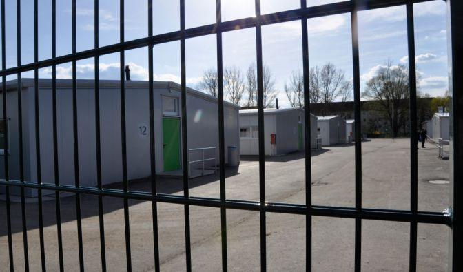 Die Flüchtlingsunterkunft in der Braunstraße in Leipzig bietet Platz für 600 Flüchtlinge. (Foto)